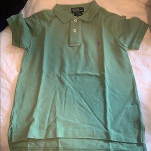 Ralph Lauren green colored top, size 5